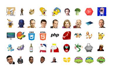 70 Free Custom HipChat Emoji