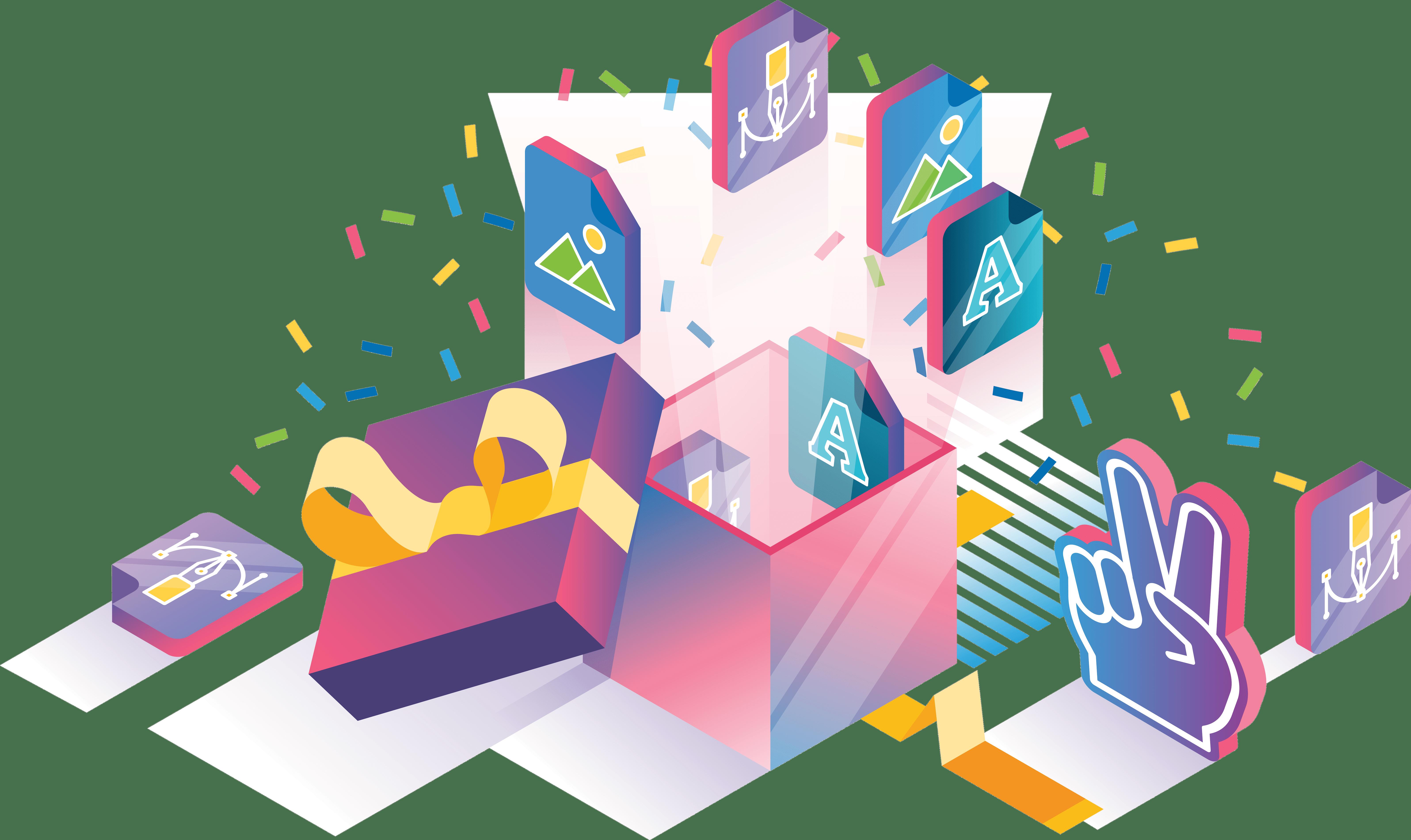 isometric-gift