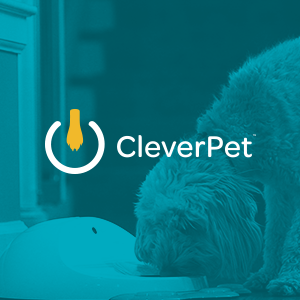 cleverpet thumbnail with logo and dog
