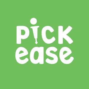 pickease logo on green background thumbnail