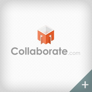Collaborate orange and white logo thumbnail