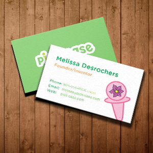 Pickease print Business card