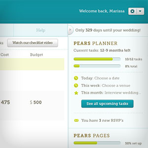 perfect pairs website wedding planner